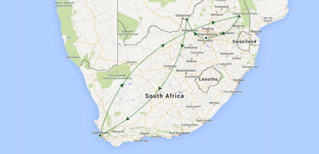 Celebrations in Africa Stevens South African safari Traveller
