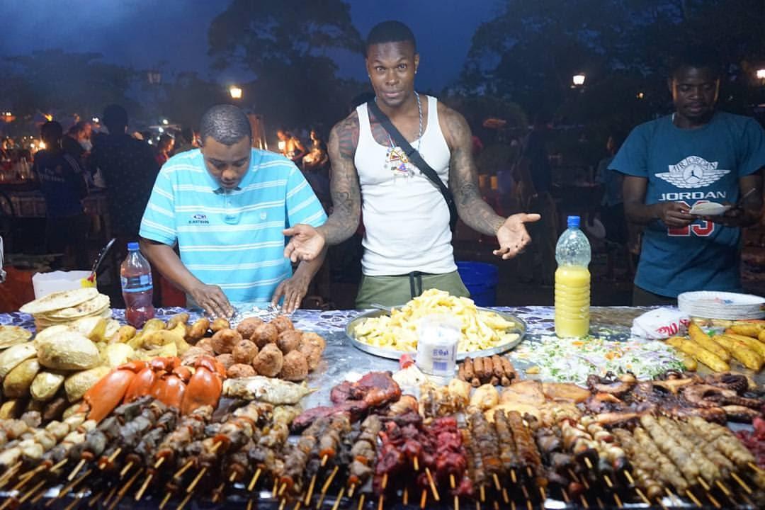Street food markets in Zanzibar are excellent