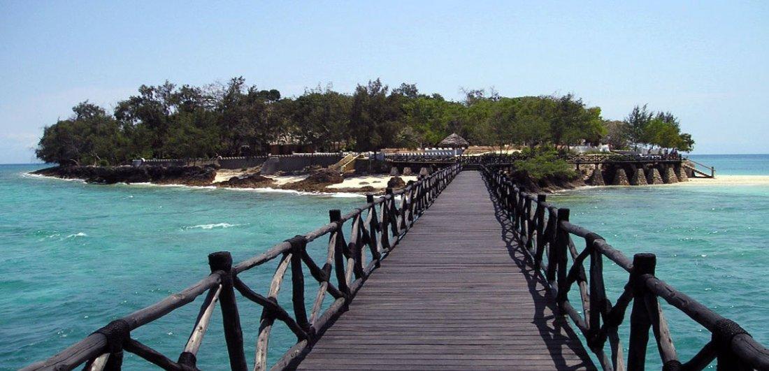 A view of Prison Island