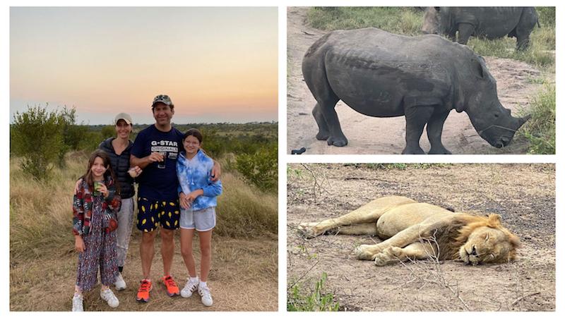 Lutrin Family enjoying their Sabi Sands Safari Adventure