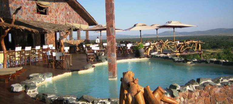 Swimming Pool at Mbalageti Lodge in Serengeti National Park, Tanzania
