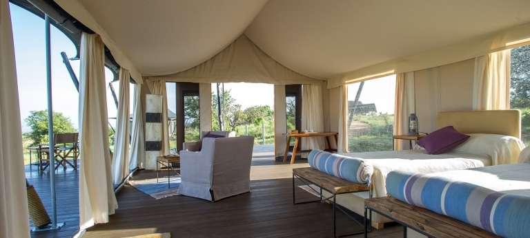 Mara River Kati Kati Tented Camp - African Wildlife Safaris
