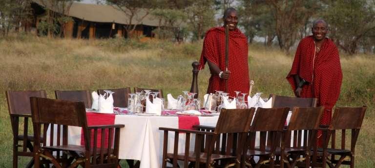Staff Lemala Ndutu Tented Camp in Tanzania