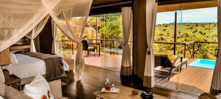 Lemala Kuria Hills Lodge Bedroom Interior in Tanzania