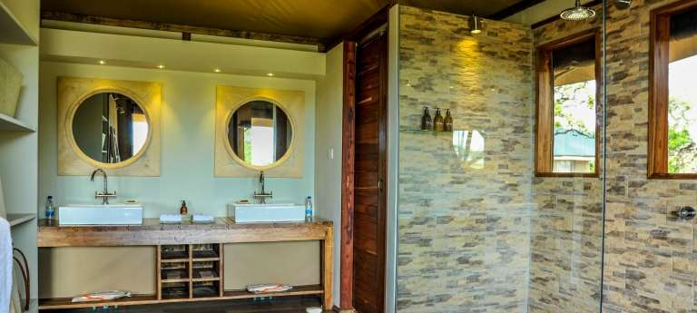 Lemala Kuria Hills Lodge Suite Bathroom in Serengeti National Park, Tanzania