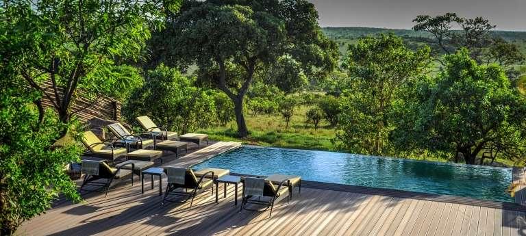 Swimming Pool at Lemala Kuria Hills Lodge Accommodation
