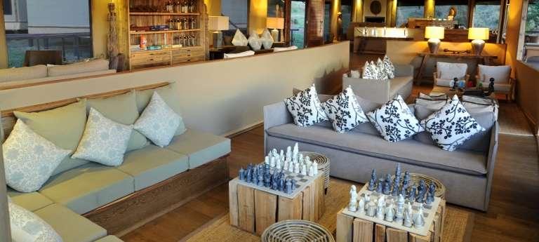 Lounge at Lemala Kuria Hills Lodge in Serengeti National Park