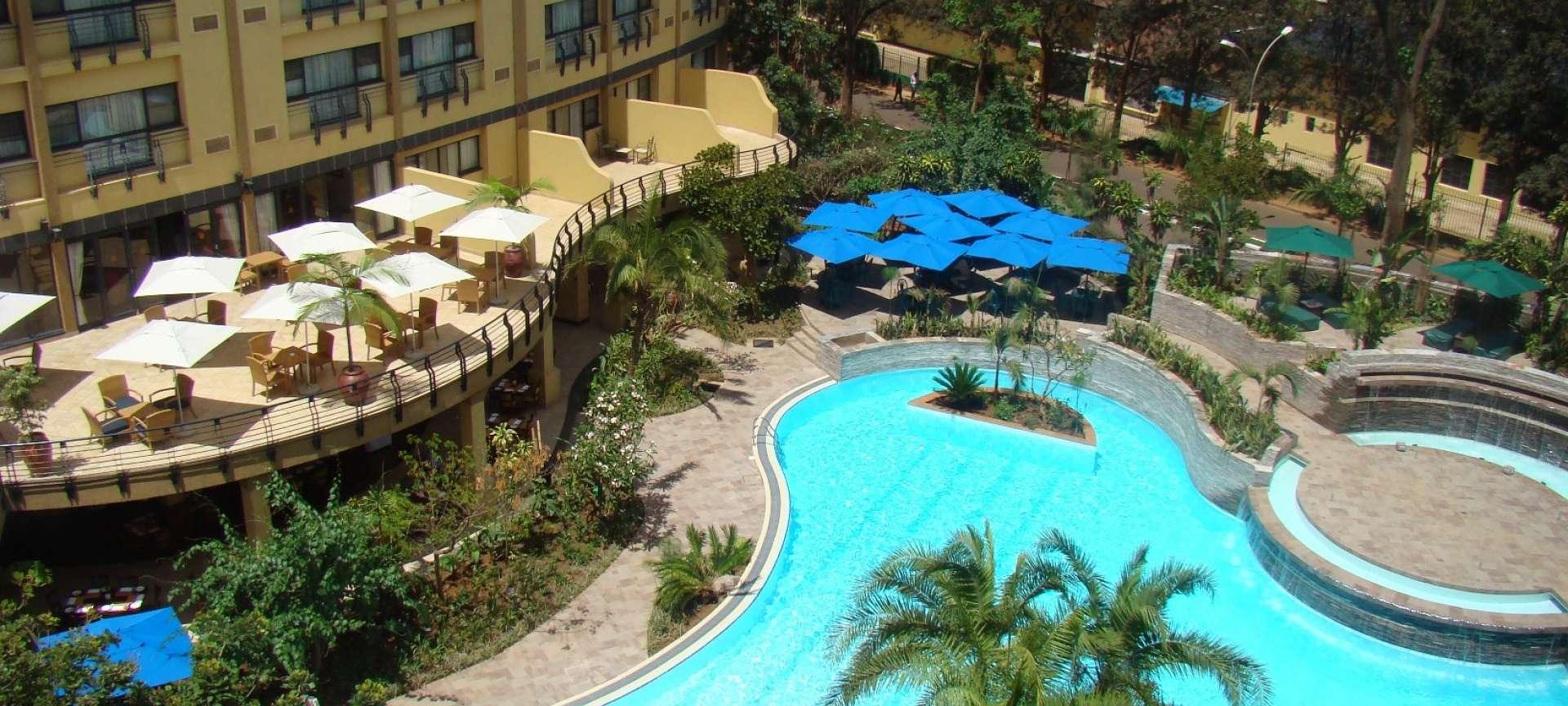Kigali Serena Hotel Pool Area