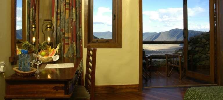 A room at Ngorongoro Serena, Tanzania, Accomodation