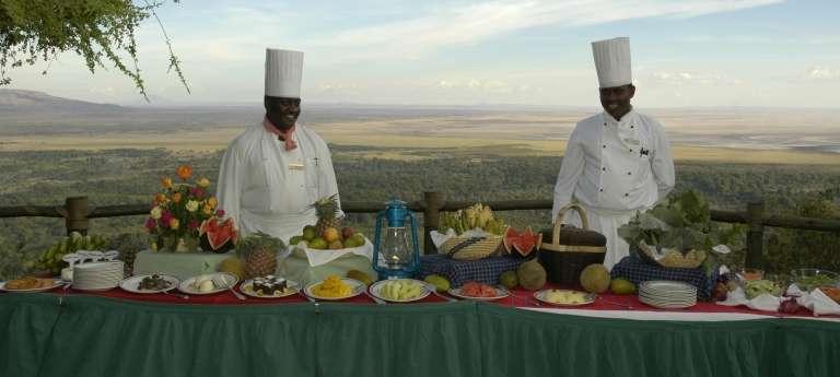 Lake Manyara Serena Bush Dinner in Lake Manyara