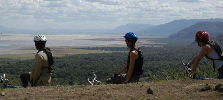 Lake Manyara View in Tanzania