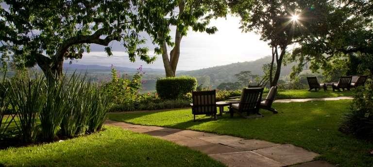 Gibbs Farm Sitting Area in Ngorongoro Conservation Area, Tanzania