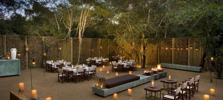 Phinda Forest Lodge Boma Dining, South Africa