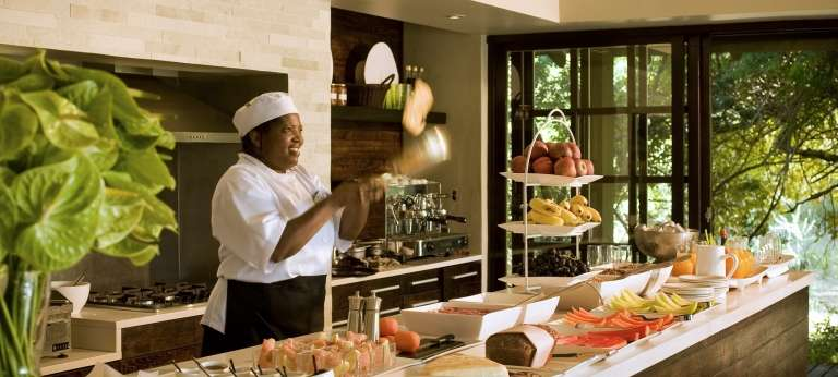 Phinda Forest Lodge Interactive Kitchen, South Africa