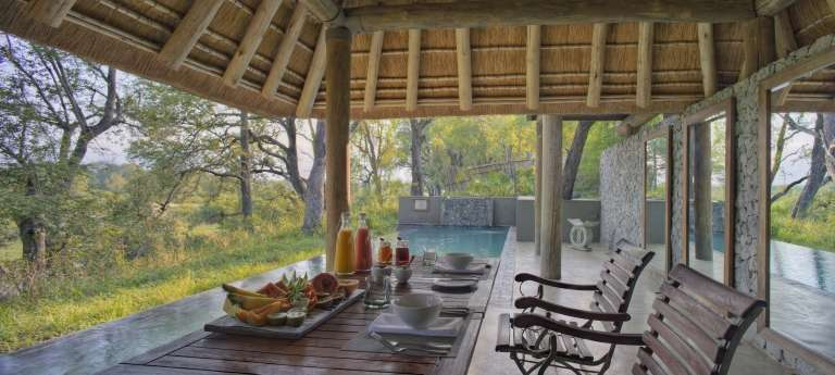 Leadwood Lodge Breakfast in Sabi Sand Game Reserve