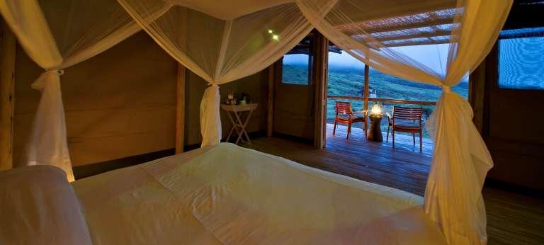 Damaraland Camp Bedroom View, Nambia