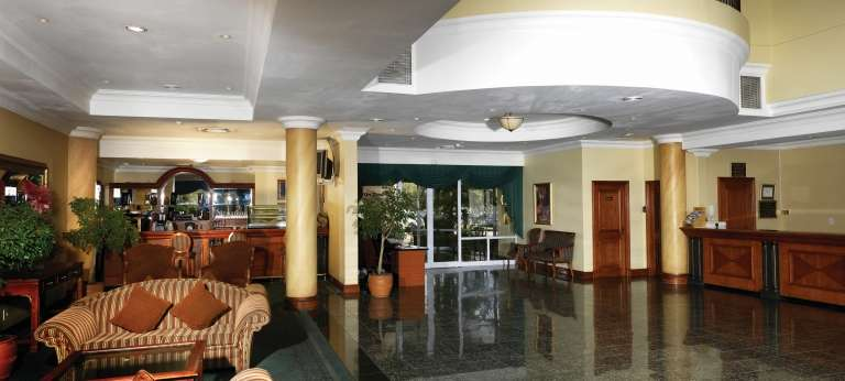 The Airport Grand Hotel Foyer (OR Tambo International in Johannesburg)