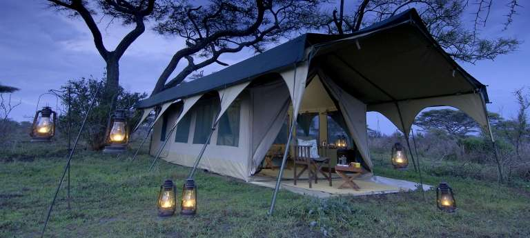 Tent Kirurumu Serengeti Camp, Serengeti National Park in Tanzania