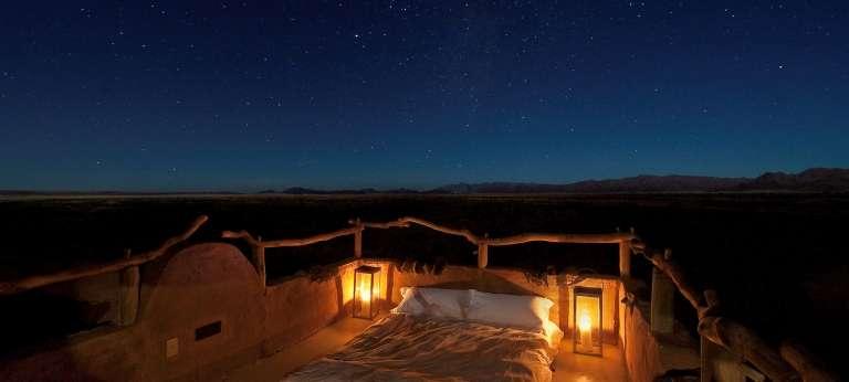 Sleeping under the Stars at Little Kulala