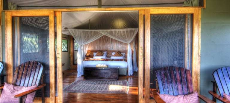 Romance is in the air at one of Chobe's romatic lodges