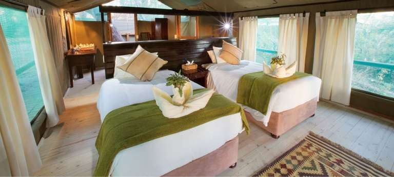 Sabi Sand Private Game Reserve and Okavango Delta safari