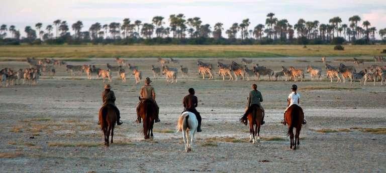 Horse Riding Safari on the Makgadikgadi Salt Pans (SA 6 Days)