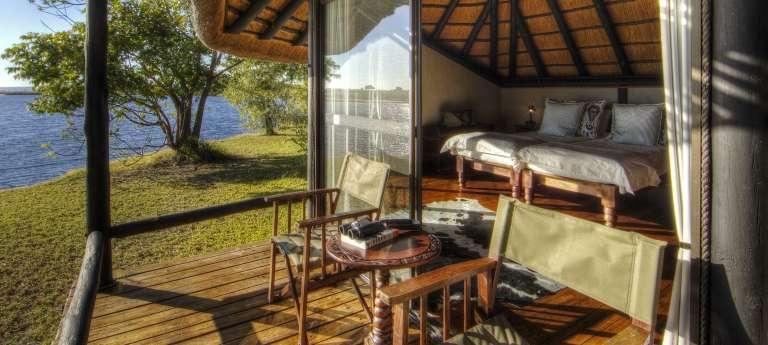 The room view Chobe Savanna Lodge, Caprivi Strip, Namibia, Accomodation