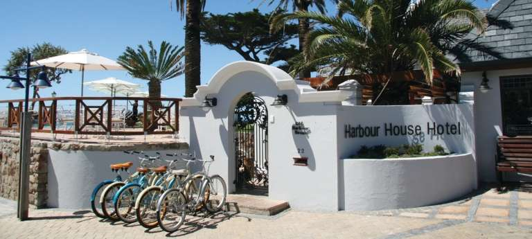 Harbour House Hotel Entrance in Hermanus
