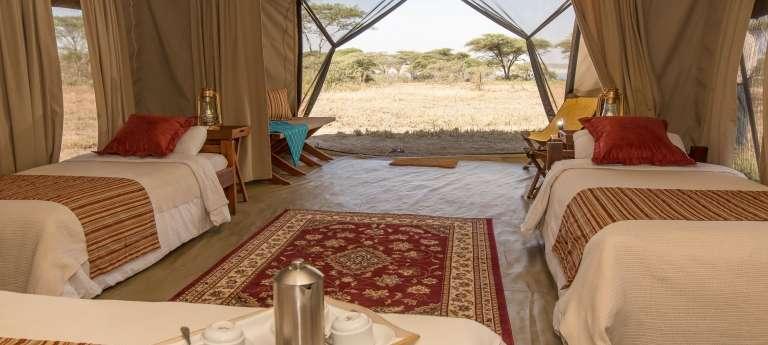 Serengeti Explorer Camp Family Tent