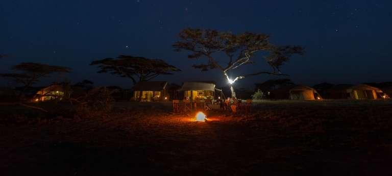 Serengeti Explorer Camp in Serengeti National Park, Tanzania