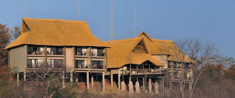 The Outdoor view at Victoria Falls Safari Club, Zimbabwe