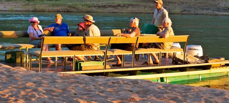 Kunene River Lodge Campsite - African Wildlife Safaris