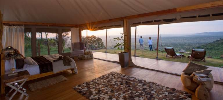 Loisaba Tented Camp, Laikipia, Kenya - Africa Wildlife Safaris