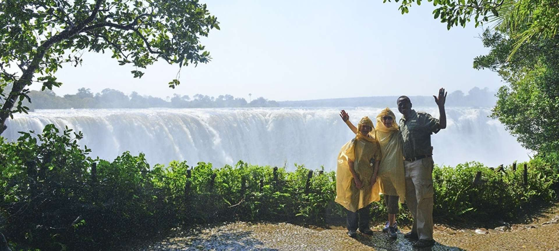 Young and old will appreciate the splendour of Victoria Falls