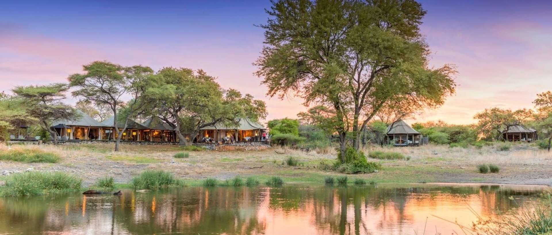 Onguma Tented Camp is an example of luxury accommodation for couples