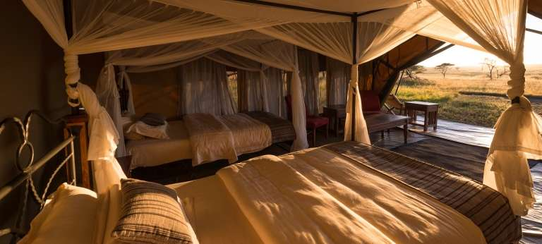 Woodlands Camp, Serengeti, Tanzania - Africa Wildlife Safaris
