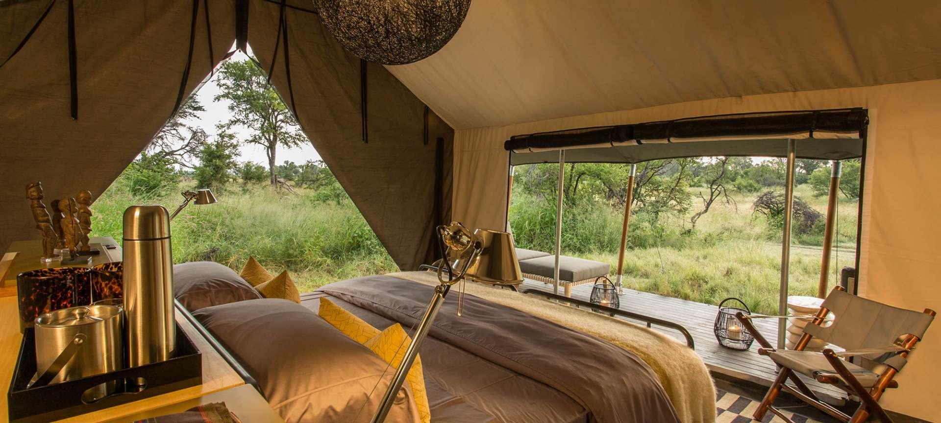 Gomoti Plains Camp, Okavango Delta, Botswana | Discover
