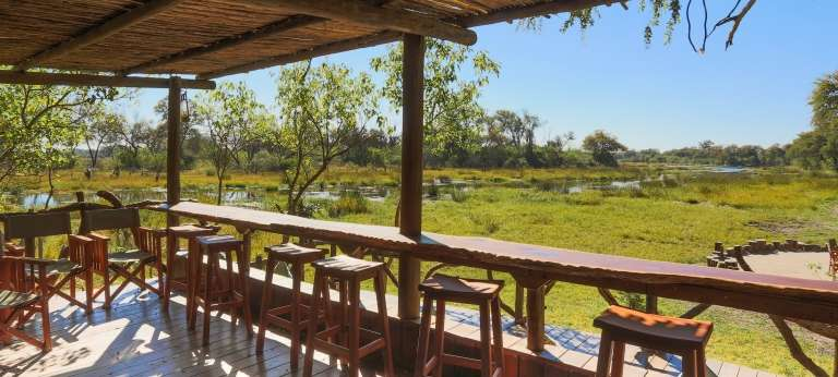 Saguni Safari Lodge, Okavango Delta, Botswana - Africa Wildlife Safaris