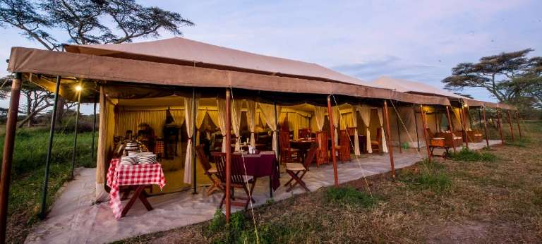 Acacia Migration Camp - Africa Wildlife Safaris