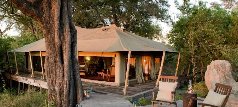 Big Five safari combining Moremi Game Reserve and Selinda Reserve