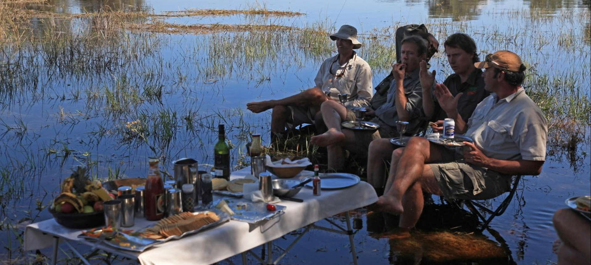 Selinda canoe trails are a popular excursion for the more adventurous at heart