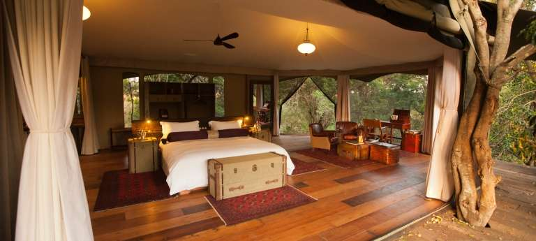 Mara Plains Camp Bedroom Interior