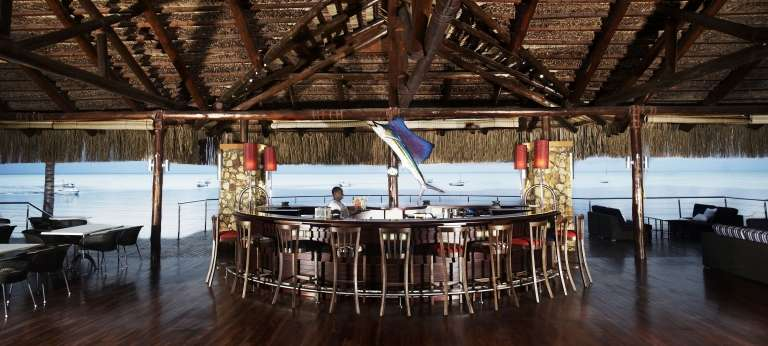 Bar at Anantara Bazaruto Island Resort and Spa, Mozambique