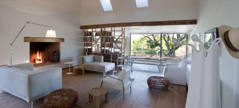 Babylonstoren living room and kitchen cottage, Accomodation