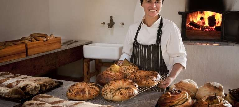 The bakery at Babylonstoren, Franschhoek