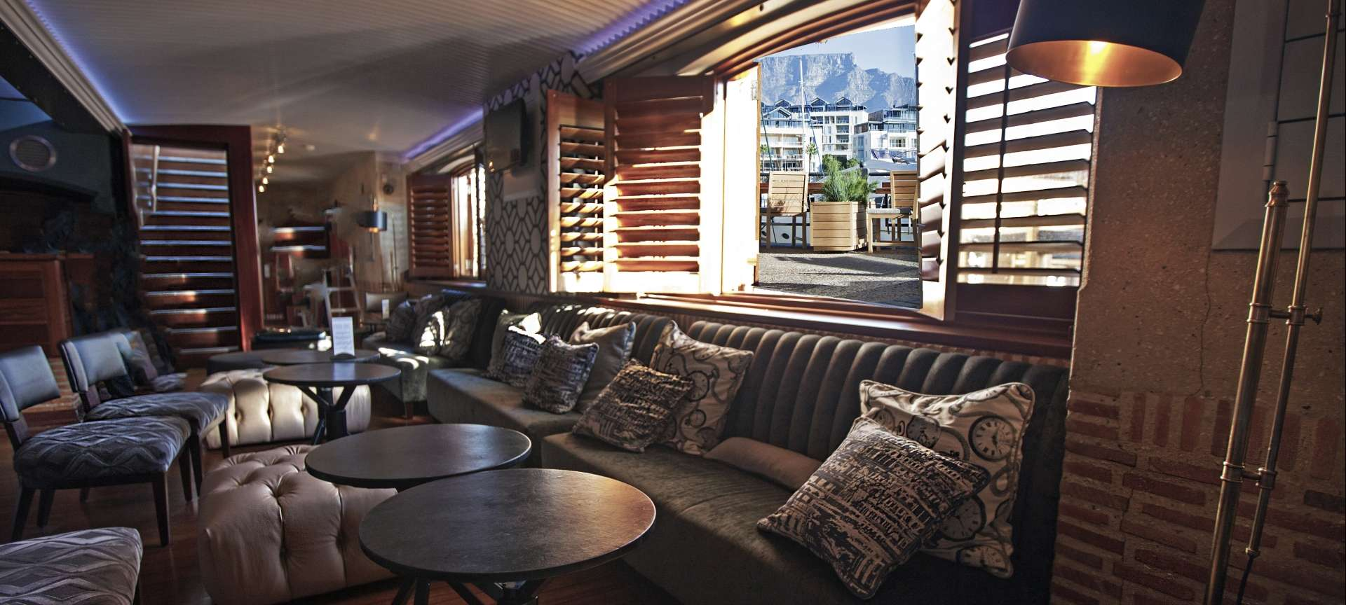 The Bascule Bar in Cape Grace - a luxury hotel in the V&A Waterfront