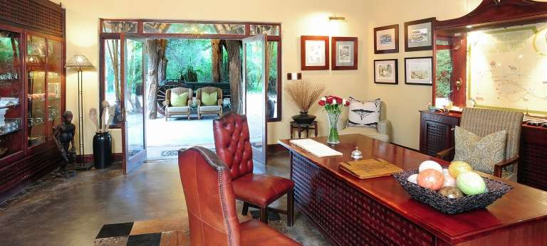 Jock Safari Lodge Interior in Kruger National Park