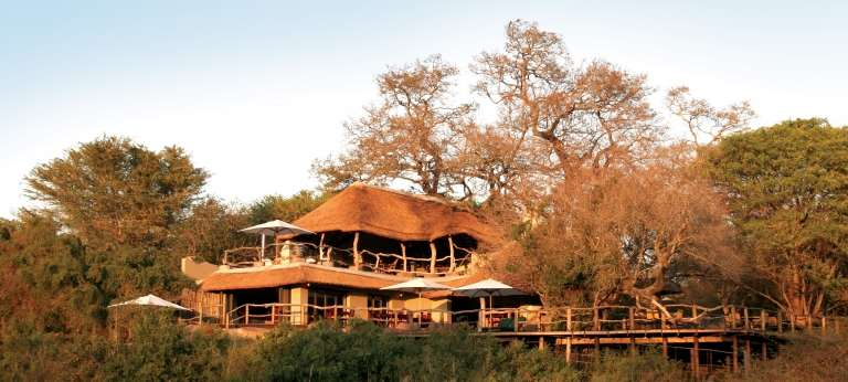 Jock Safari Lodge at Sunset in Kruger National Park