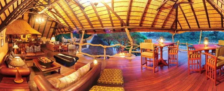 Communal Area at Jock Safari Lodge, South Africa