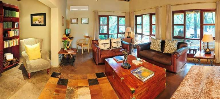 Jock Safari Lodge Lounge Interior, South Africa